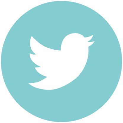 Twitter - Aqua Splash Icon