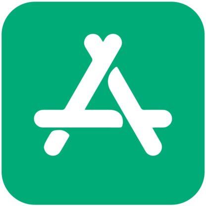 Apple Store mint icon