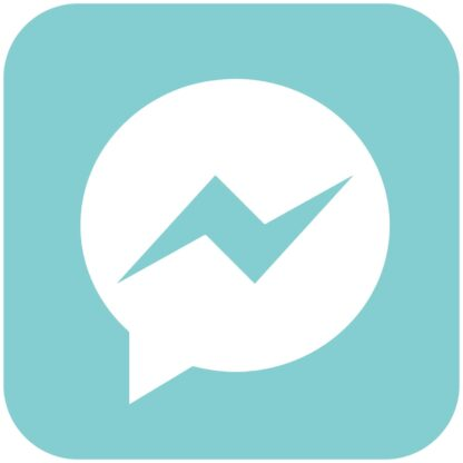 messenger - Aqua Splash icons