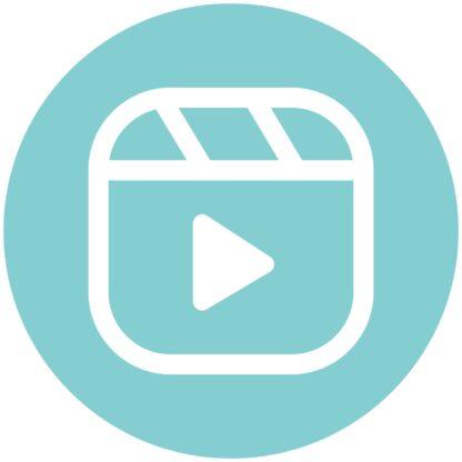 reels - Aqua Splash Icon