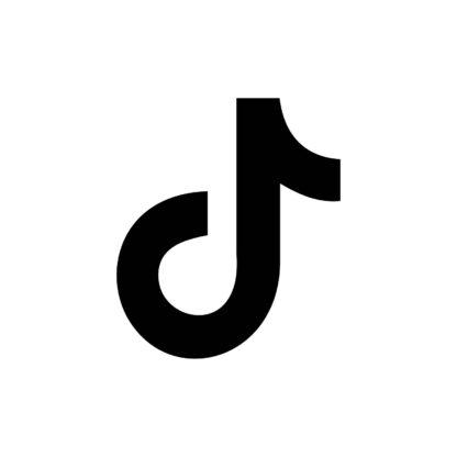 TikTok - Vector Social Media icons
